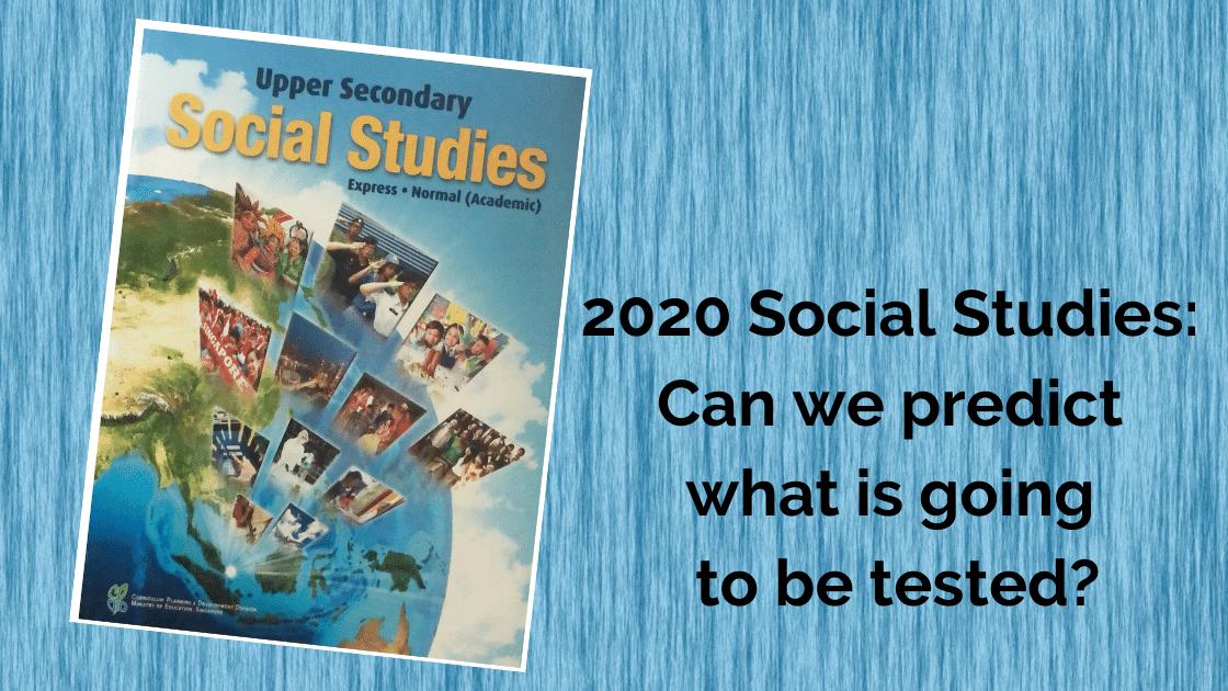 2020 Social Studies