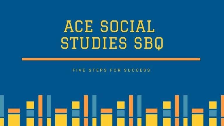 Ace Social Studies SBQs