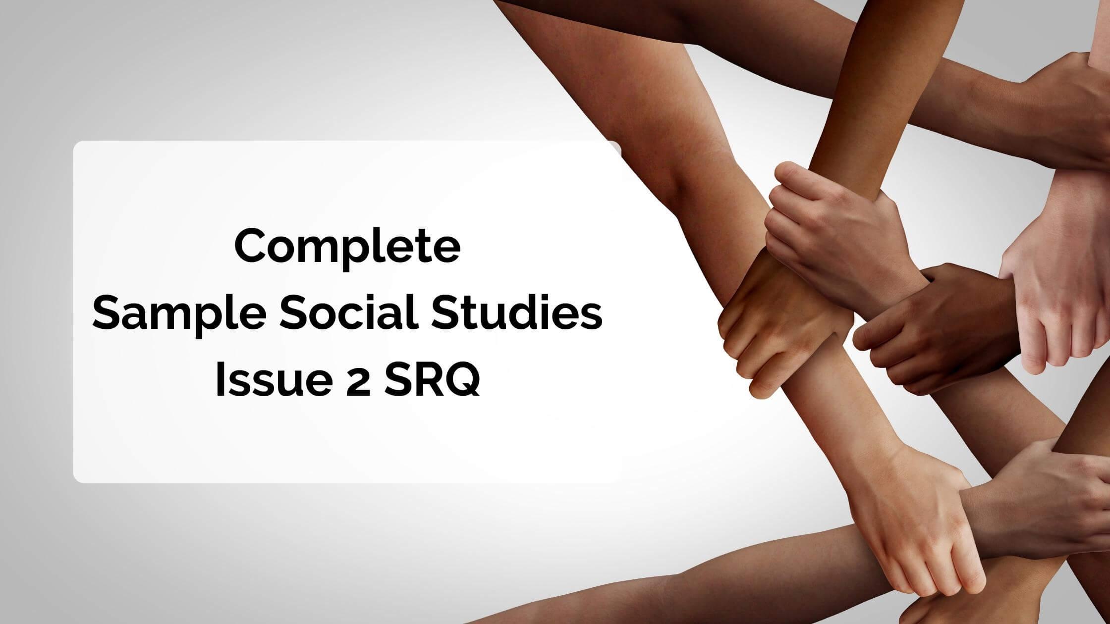 Social Studies Issue 2