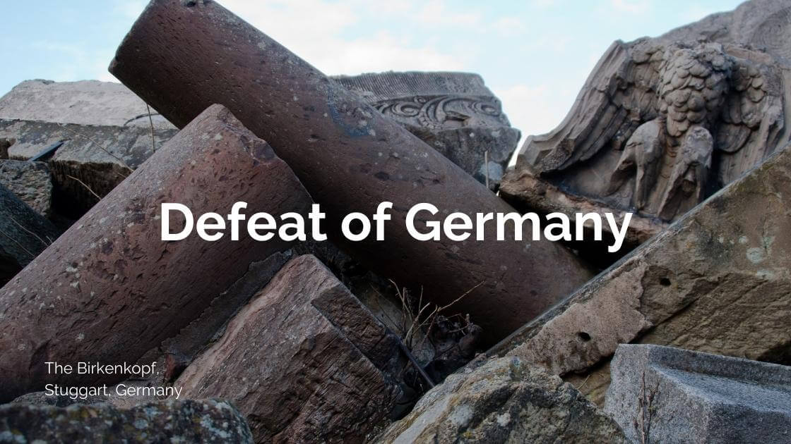 Defeat of Germany