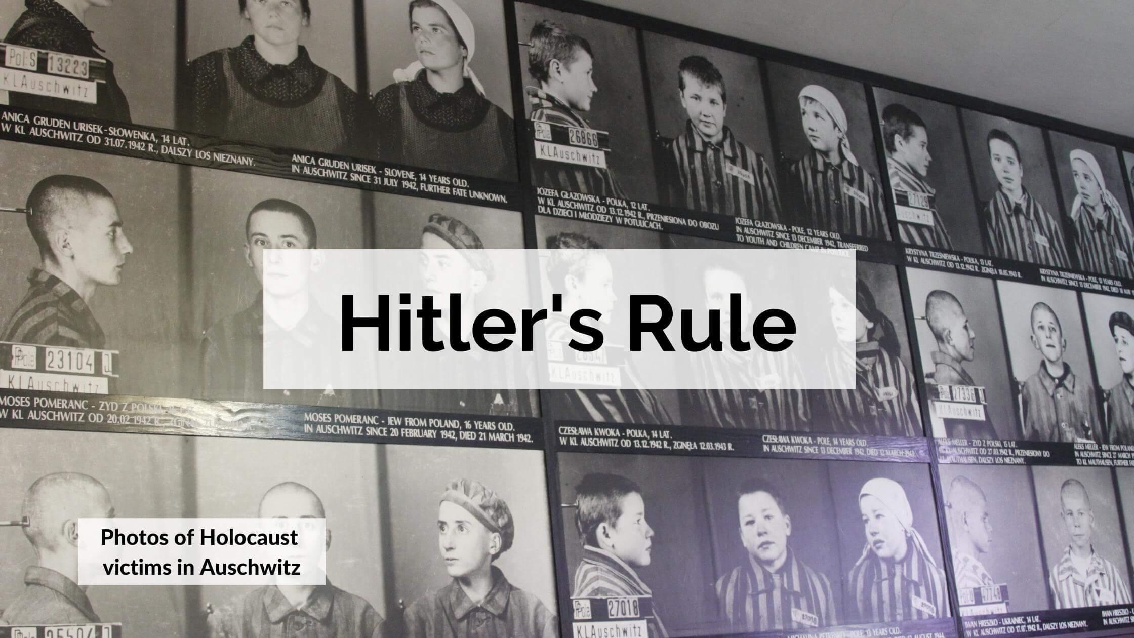 Hitler's Rule