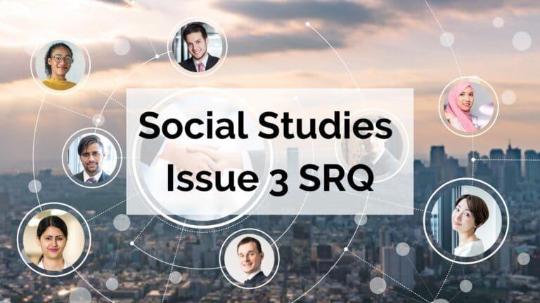 Complete Social Studies Issue 3 SRQ