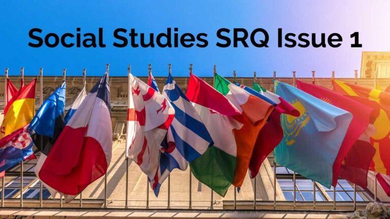 Complete Sample Social Studies Issue 1 SRQ